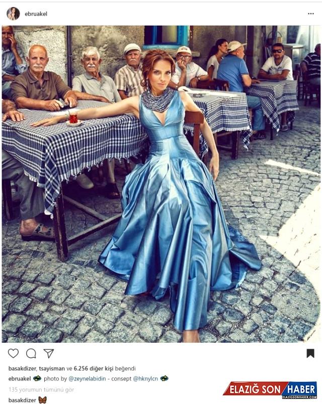 Sunucu-Model Ebru Akel, Paylaşımıyla Hayranlarından Tam Not Aldı