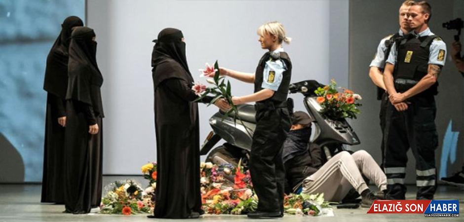 Ünlü Modacı Etemadi, Danimarka'da Yasak Olan Burka ve Peçe İçin Defile Düzenledi