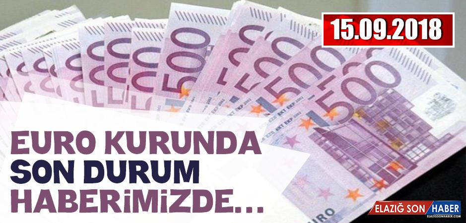 15 Eylül Euro Fiyatı
