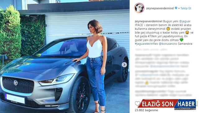 850 Bin TL'lik Elektrikli Arabayı Test Eden Zeynep Demirel, Volkan Demirel'e Gönderme Yaptı