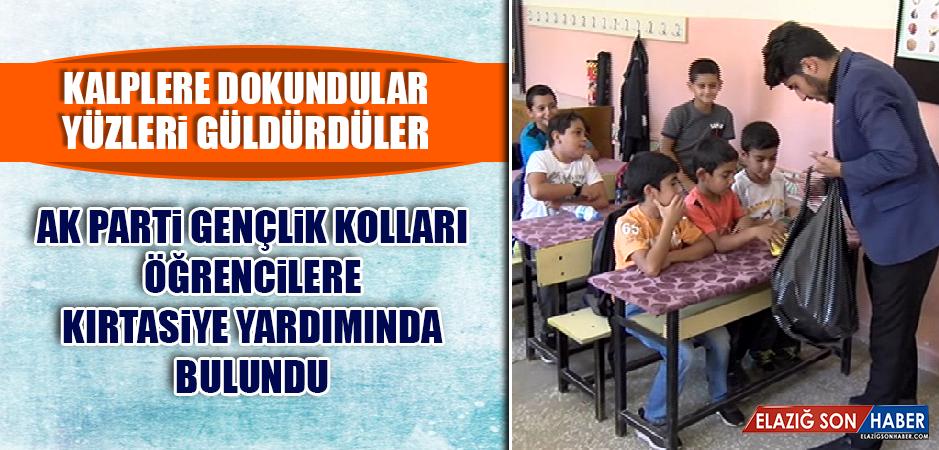 AK Parti Gençlik Kolları, Öğrencilere Kırtasiye Yardımında Bulundu