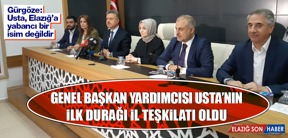 AK Parti Genel Başkan Yardımcısı Elazığ'da