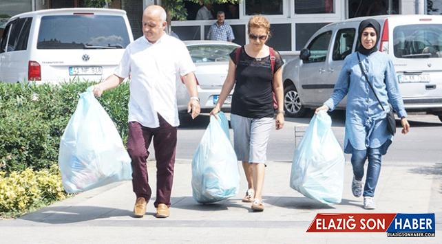 Ambalaj atıkları evlere ekmek olarak geri dönüyor