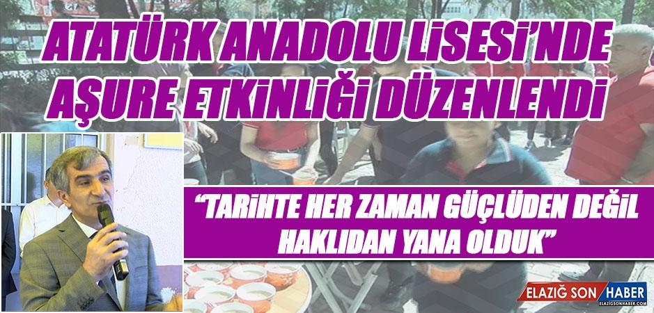 Atatürk Anadolu Lisesi'nde Etkinlik Düzenlendi