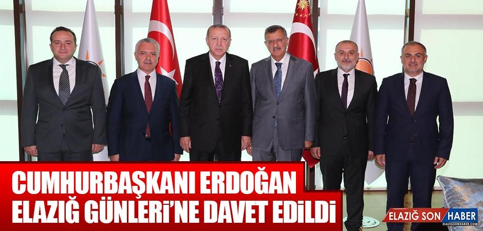 Cumhurbaşkanı Erdoğan, Elazığ Günleri'ne Davet Edildi