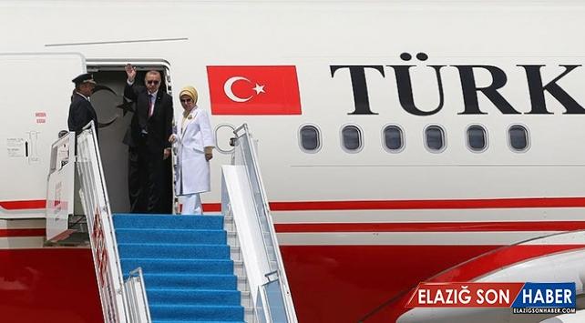 Cumhurbaşkanı Erdoğan Kırgızistan'dan Ayrıldı