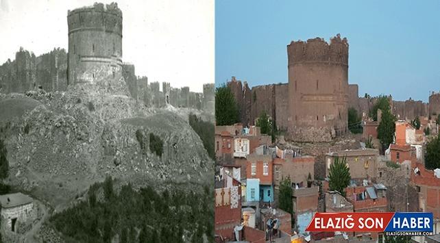 Diyarbakır'ın 100 yıl önce fotoğraflanan tarihi dokusu aynı kadrajdan görüntülendi