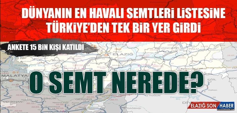 Dünyanın En Havalı Semtleri Listesine Türkiye'den Tek Bir Yer Girdi