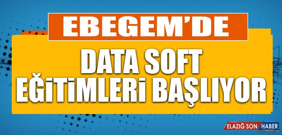 EBEGEM'de Data Soft Eğitimleri Başlıyor