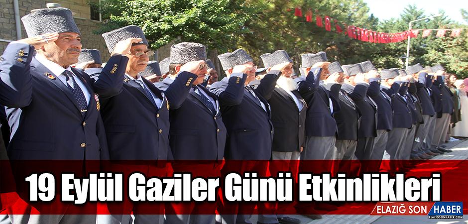 Elazığ'da 19 Eylül Gaziler Günü Kutlandı