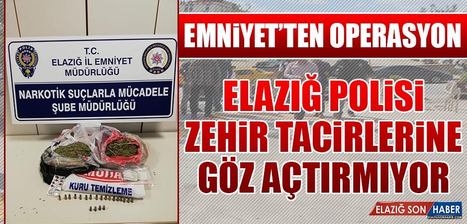 Elazığ Polisi, Zehir Tacirlerine Göz Açtırmıyor