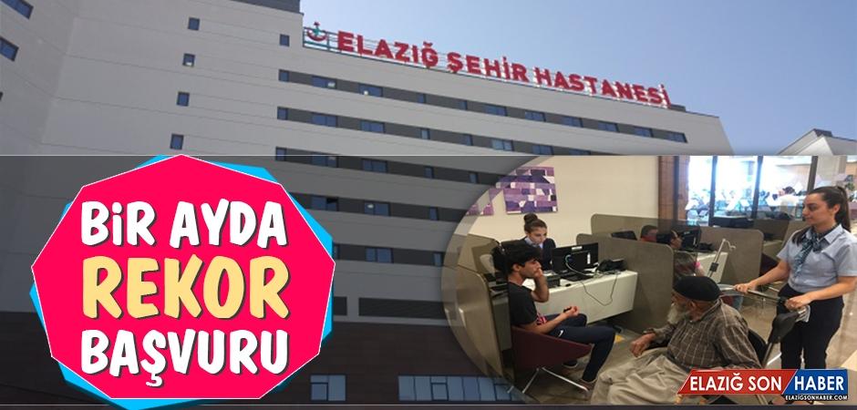 Elazığ Şehir Hastanesi'ne Bir Ayda Rekor Başvuru