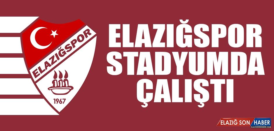 Elazığspor Bugün Stadyumda Çalıştı