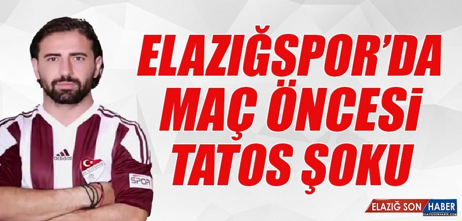 Elazığspor'da Andreas Tatos Şoku!