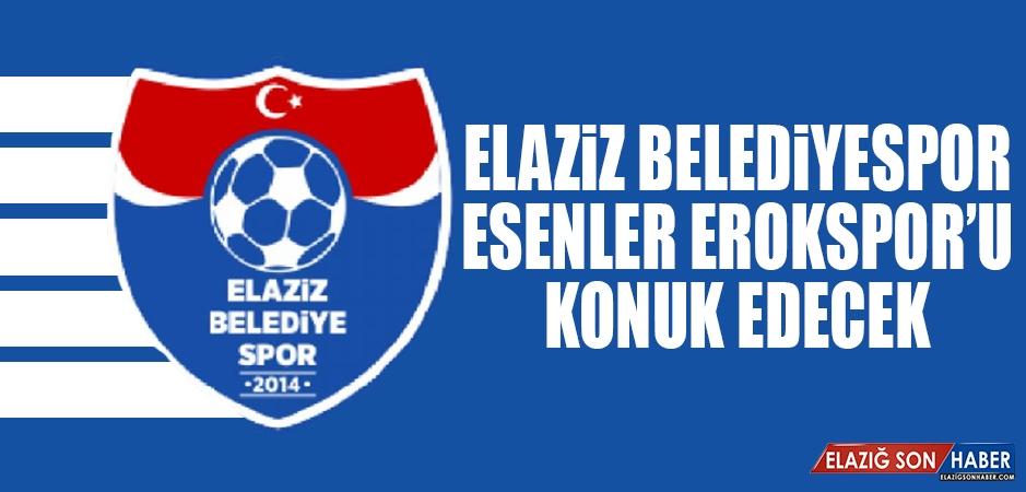 Elaziz Belediyespor, Esenler Erokspor'u Konuk Edecek