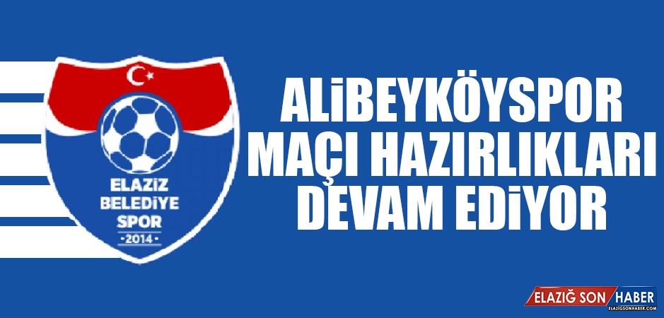 Elaziz Belediyespor'da Tek Antrenman