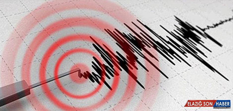 En son deprem nerede oldu?