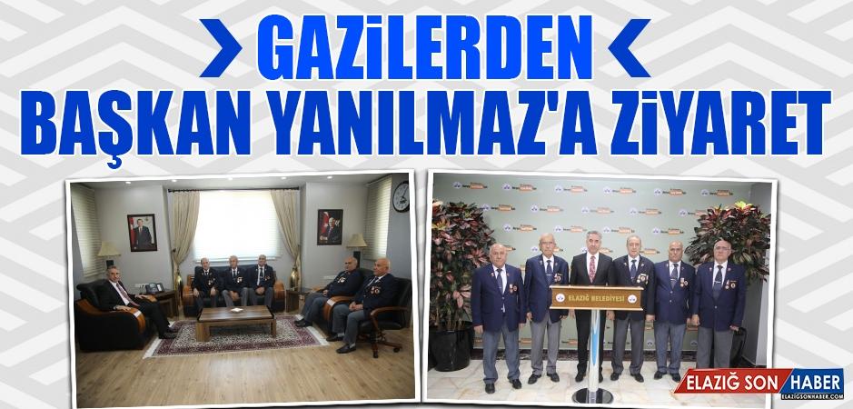 Gaziler Günü Nedeniyle Başkan Yanılmaz'a Ziyaret