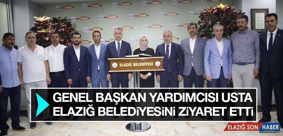 Genel Başkan Yardımcısı Usta, Elazığ Belediyesini Ziyaret Etti