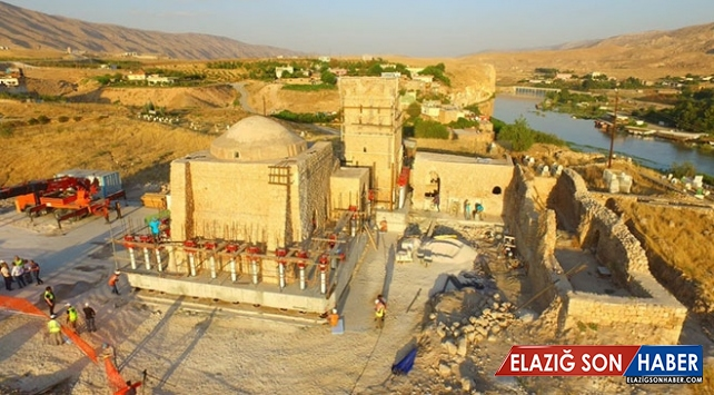Hasankeyf'teki tarihi zaviye yeni yerine taşınacak