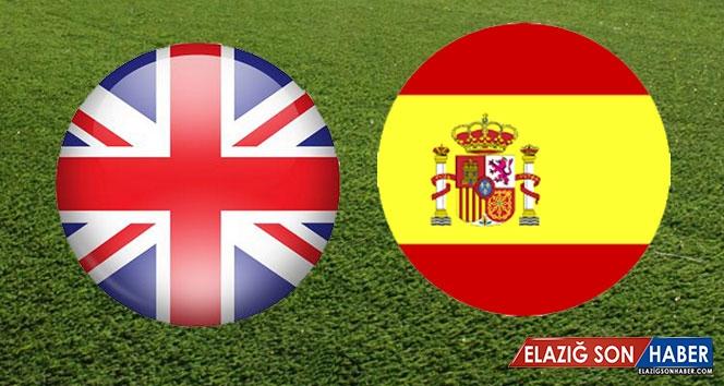 İngiltere İspanya Canlı İzle İngiltere İspanya Şifresiz Veren Kanallar