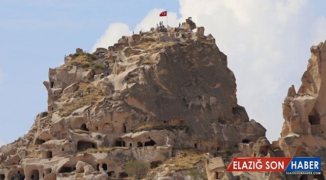 Kapadokya turist sayısında son üç yılın zirvesinde