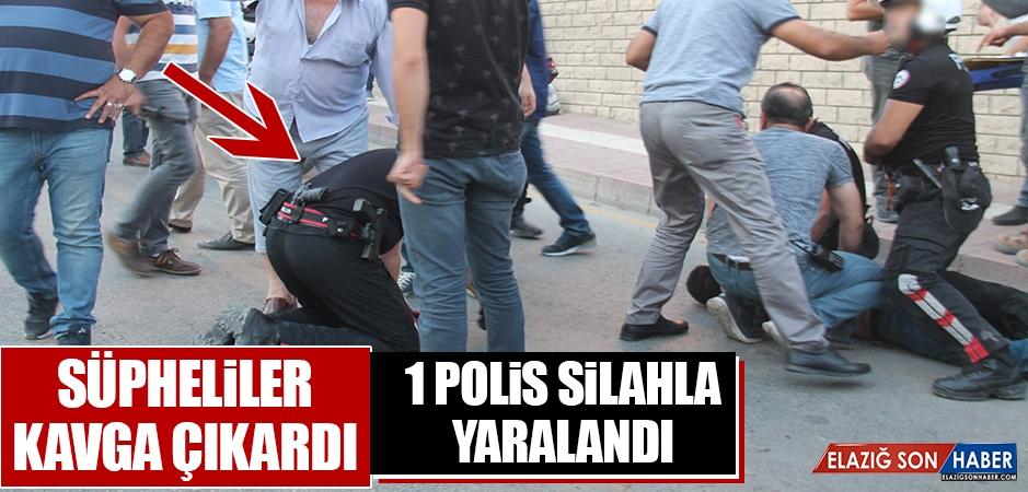 Kavgada 1 Polis Silahla Yaralandı!
