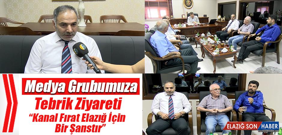 Medya Grubumuza Tebrik Ziyareti