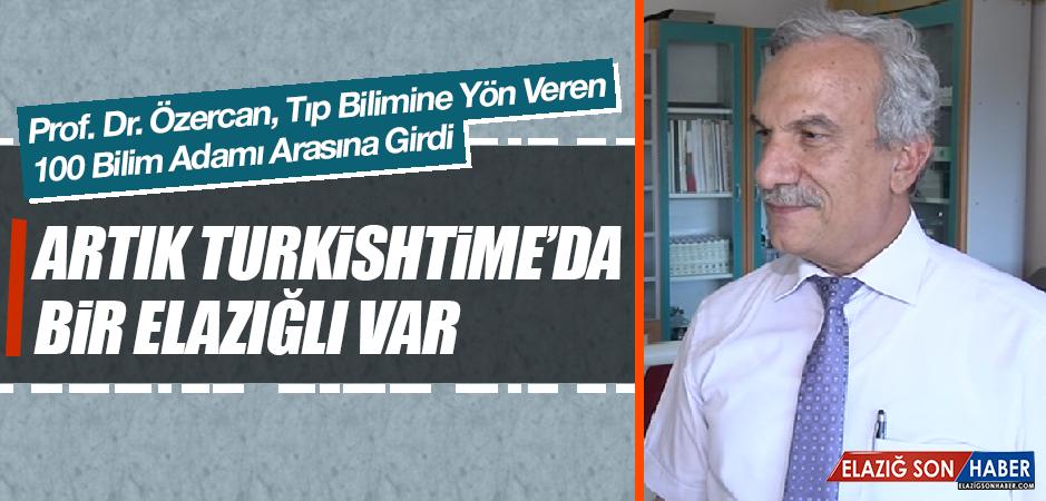 Prof.Dr. Özercan, Çalışmalarıyla Türk Tıp Tarihine Geçti