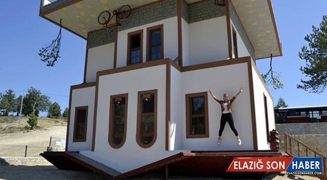 """Safranbolu'da yapılan """"ters konak"""" ilgi çekiyor"""