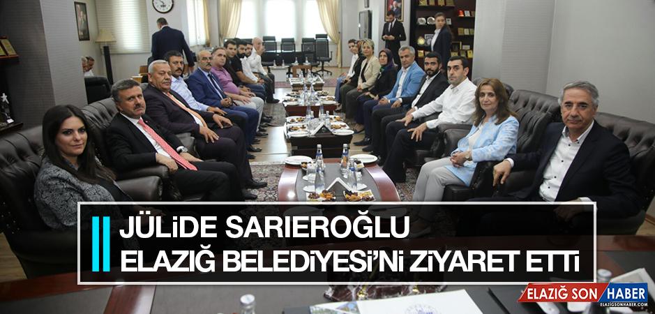 Sarıeroğlu'ndan Elazığ Belediyesi'ne Ziyaret