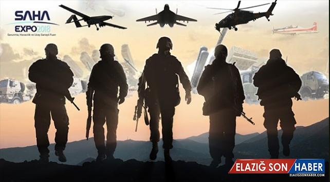 Savunma Sanayii SAHA EXPO'da Buluşuyor