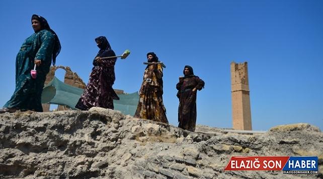 Tarihlerini kendi elleriyle gün yüzüne çıkaran Harranlı kadınlar