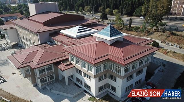 Tekirdağ Kültür Merkezi inşaat çalışmaları tamamlanıyor