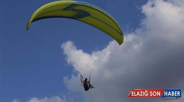 Terörden temizlenen Amanos Dağları yamaç paraşütü merkezi oldu