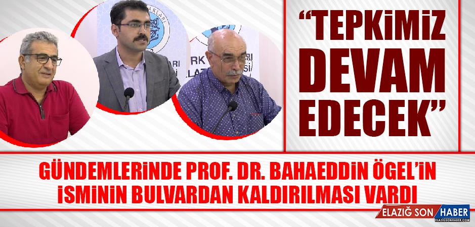 Türk Ocakları'ndan Prof. Dr. Bahaeddin Ögel Programı Düzenlendi