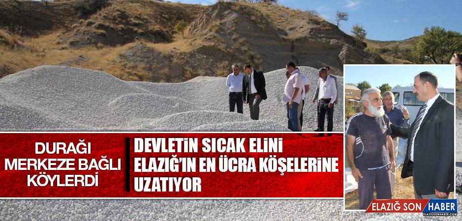 Vali Kaldırım'ın Durağı Merkeze Bağlı Köylerdi