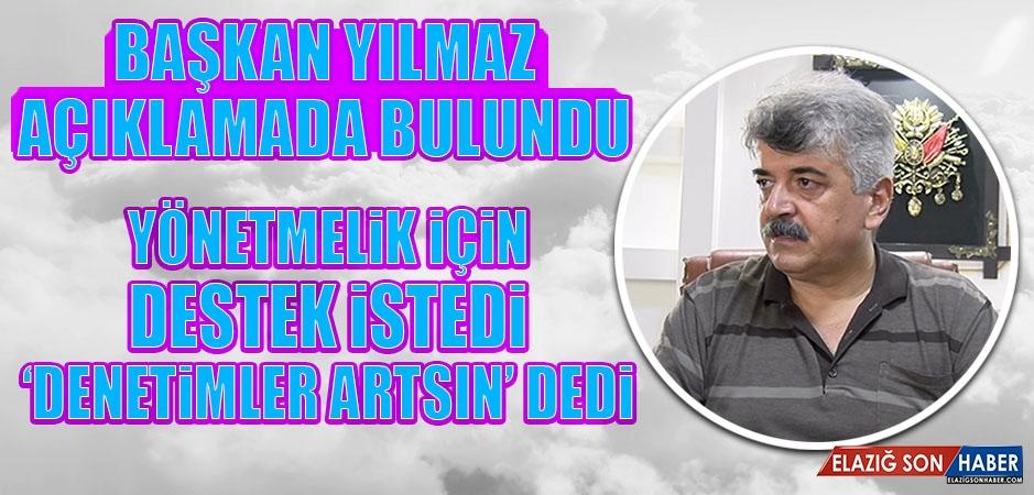 Yılmaz: Elazığ'ın Kültür Ataşeliğini Yapan Hiçbir Esnaf Kolu Yoktur