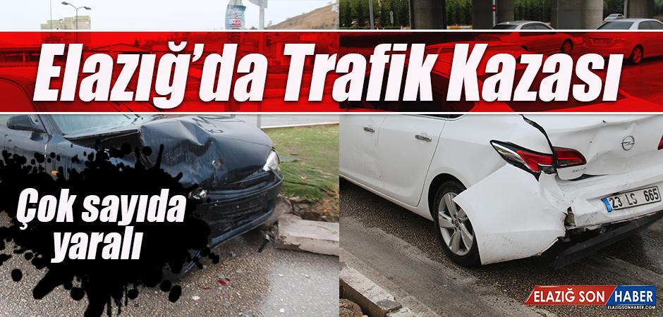 3 Aracın Karıştığı Kazada Çok Sayıda Yaralı