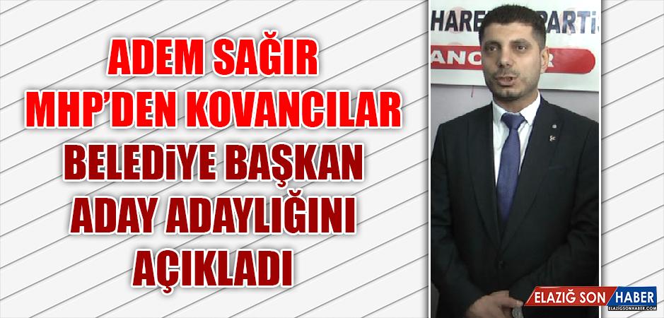 Adem Sağır, Belediye Başkan Aday Adaylığını Açıkladı