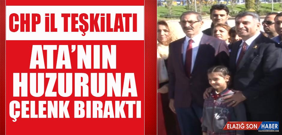 CHP İl Teşkilatı, Atatürk Anıtı'na Çelenk Sundu