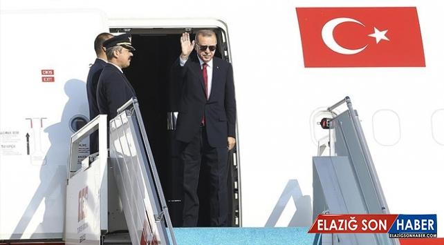 Cumhurbaşkanı Erdoğan Macaristan'a Gitti