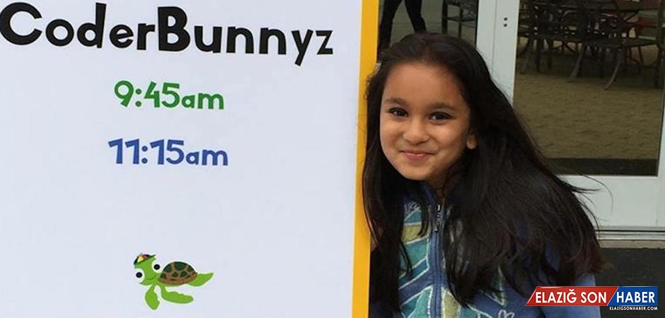 Daha On Yaşında Google ve Microsoft'un Radarına Giren Programlamacı Kız