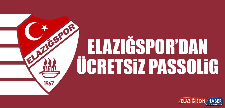 Elazığspor'dan Ücretsiz Passolig