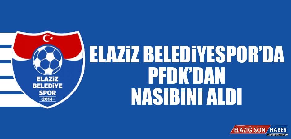 Elaziz Belediyespor'da PFDK'dan Nasibini Aldı