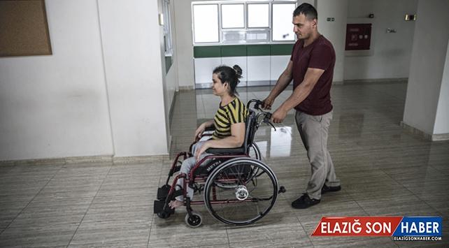 Engelli kadının tekerlekli sandalye hayali gerçek oldu