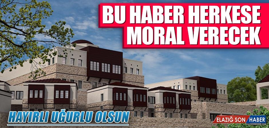 Harput Diyanet Eğitim Merkezi Külliyesi'nin İhalesi Yapıldı