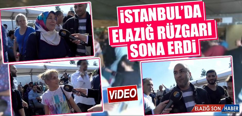 İstanbul'da Elazığ Rüzgarı Sona Erdi