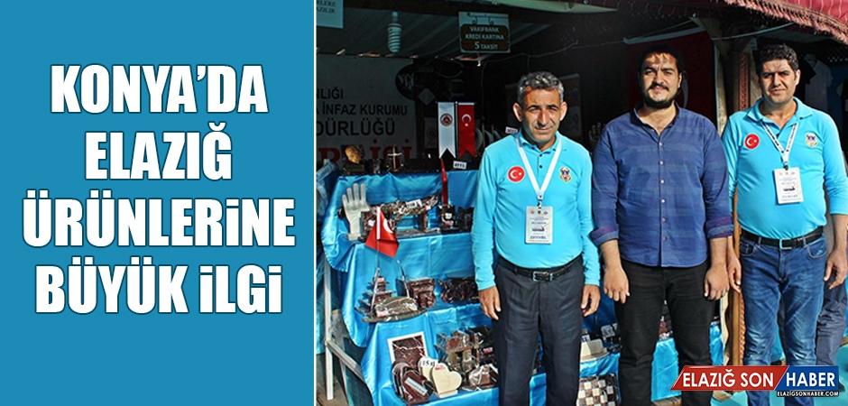 Konya'da Elazığ Ürünlerine Büyük İlgi