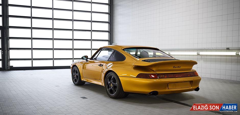 Porshce'nin Fiyatı 17 Milyon TL Olan Canavarı: 993 Turbo S Project Gold